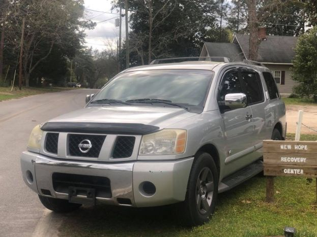 The parents of the late David Campbell donated this Nissan Armada to New Hope Recovery Center in David's memory.