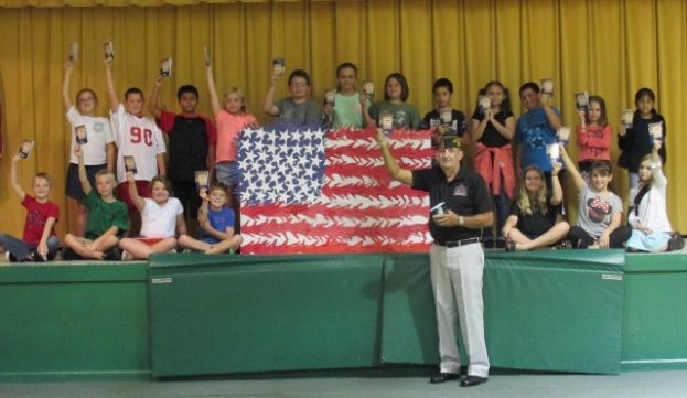 West Green students celebrate Constitution Day