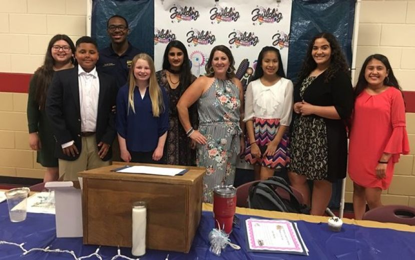Parents, teachers, administrators and students were invited to attend to help honor those who have been actively involved in FBLA this year at CMS and in our community.