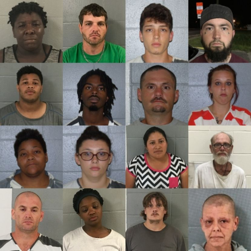(L-R): 1st row: Tiffany Smith, Dustin DeWayne Boatright, Timothy Allen Hand, Austin Tyler Smith; 2nd row: Antonio Smiley, Devante L. Batton, Dusty Ray Waters, Sharee N. Taylor; 3rd row: Stacy Moore, Melissa Downing, Christina Lopez Perez, Russell Alvin Thornton; 4th row: Dennis Waters, Robin Pleschette Moore, Joseph Adam Vaughn, Angie Cox