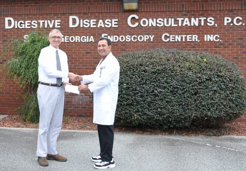 Digestive Disease Consultants supports Dye Foundation's work