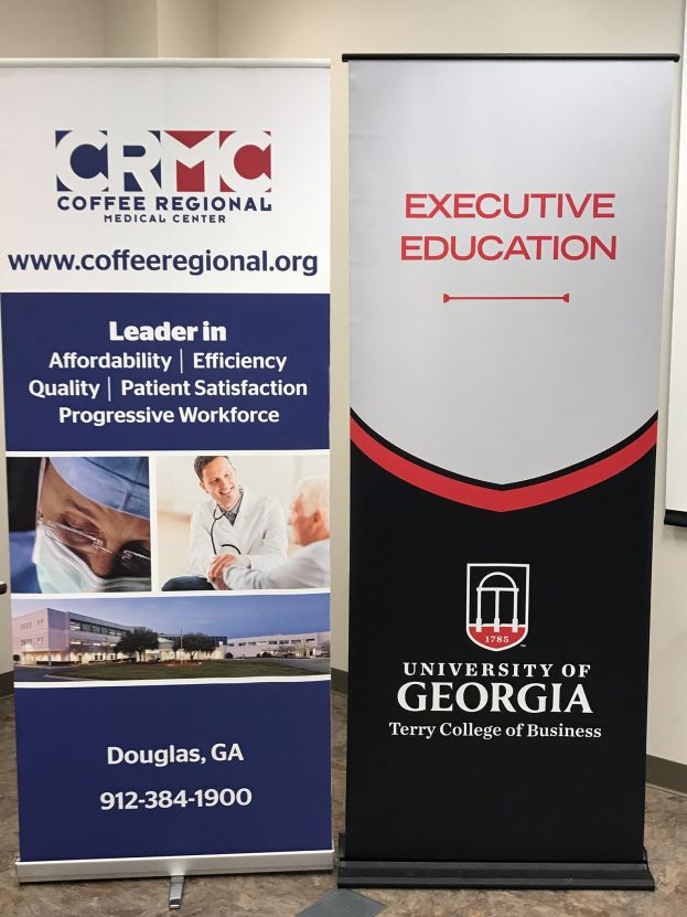 CRMC hosts UGA professors for leadership session
