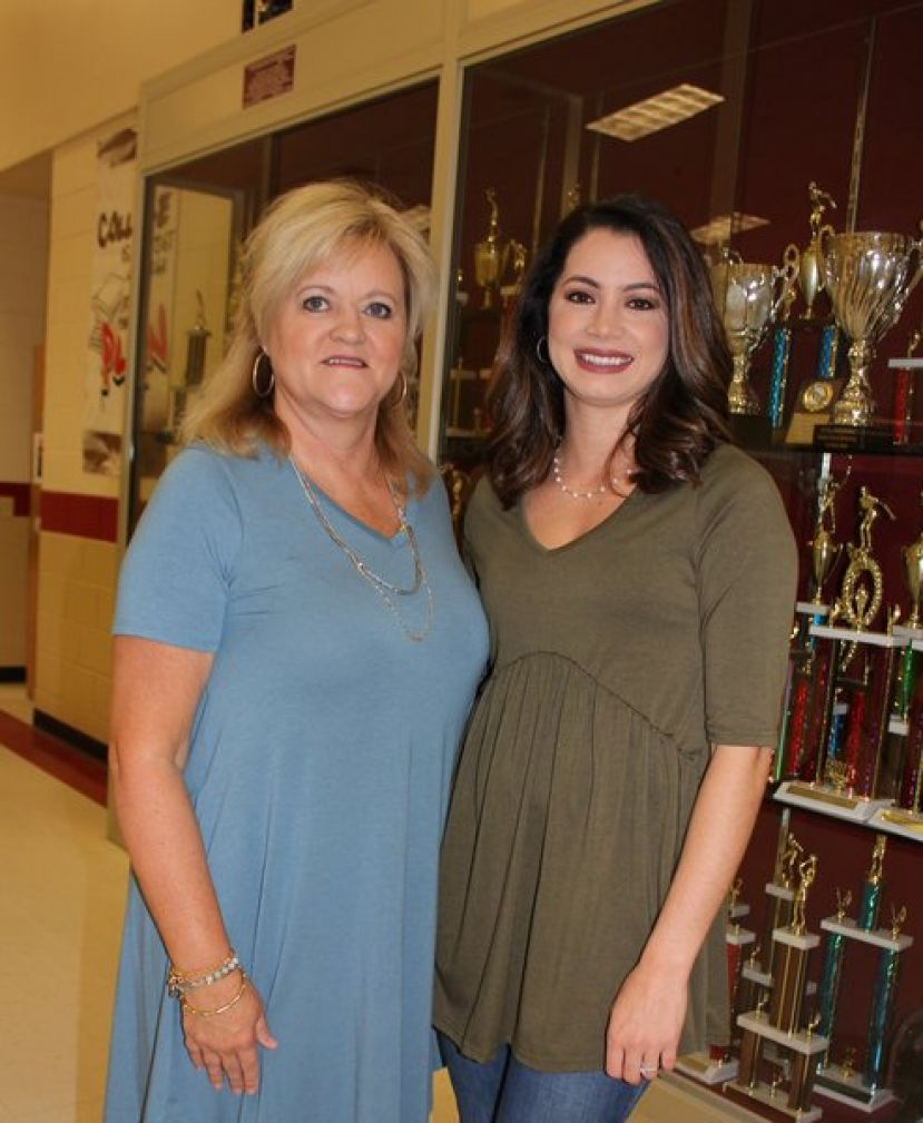 Coffee Middle School April Teacher-of-the-Month, Mrs. Adriana Amerson