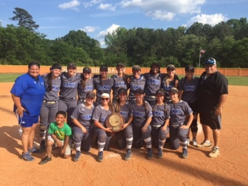 This year the South Georgia State College Lady Hawks are the 2018 GCAA/Region 17 champions