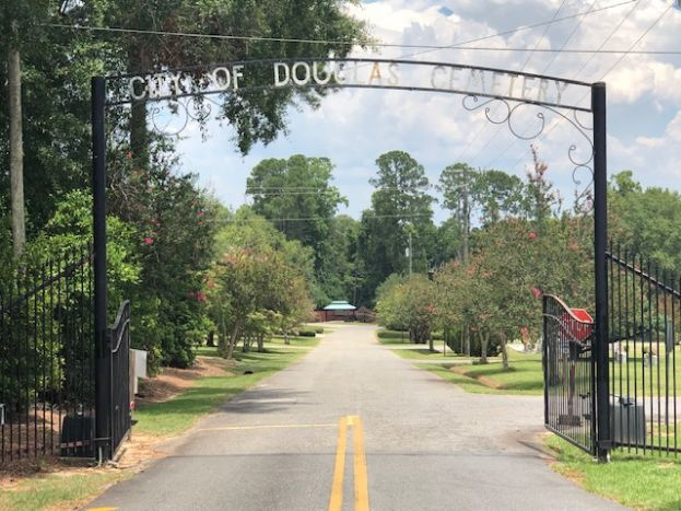 The Douglas City Cemetery has been the centerpiece of a bribery investigation that culminated in the indictment of three individuals last week, one of whom was the cemetery manager.