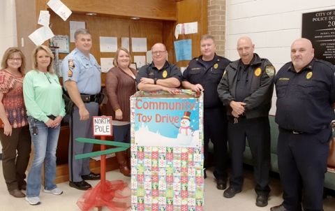Community toy drive in Coffee County has begun