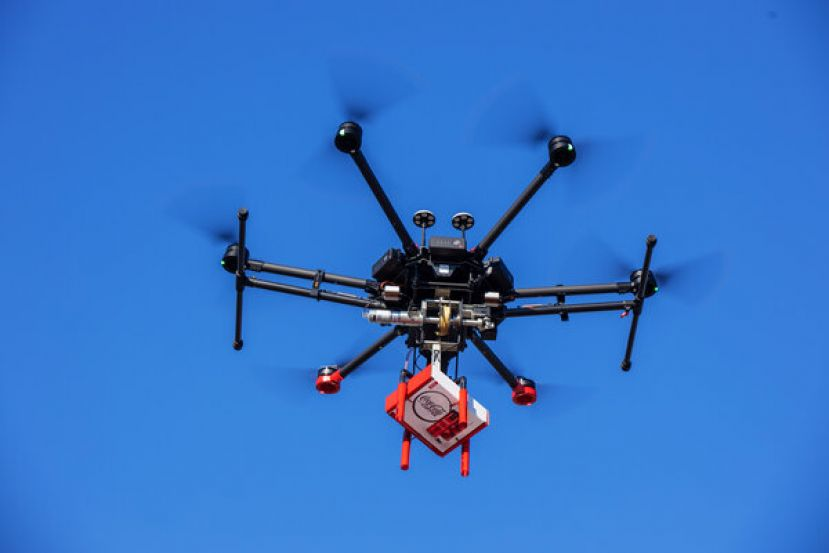 Drones will be delivering new Coca Cola products to homes in Coffee County this week.