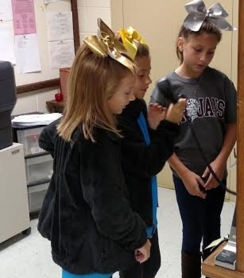 Eastside 5th graders take over  morning announcements