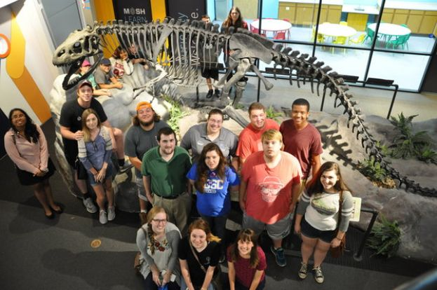 SGSC students visited Jacksonville's Museum of Science and History (MOSH) on National Museum Day