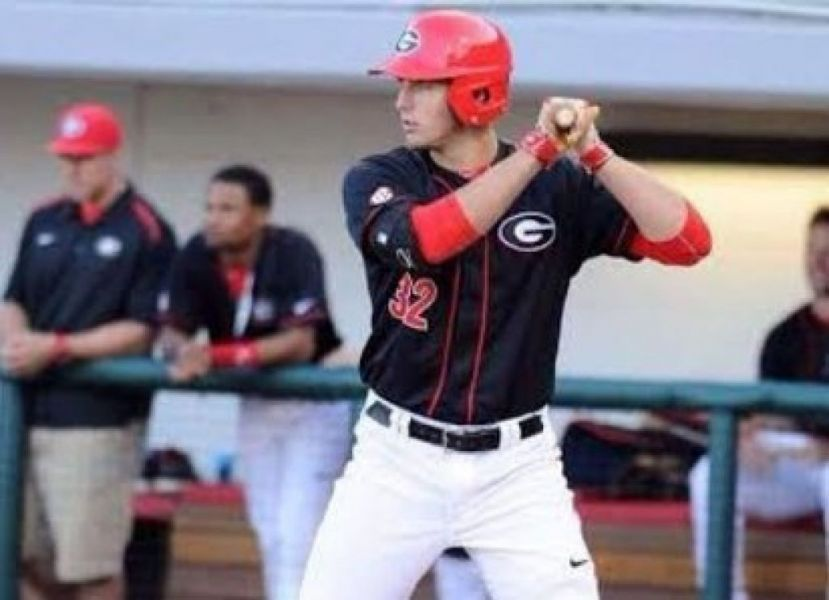 Keegan McGovern hit home runs 16, 17, and 18 in the first two games of the Athens Regional this weekend. The Bulldogs play in the championship game Monday, June 4, 2018, at 1 p.m.