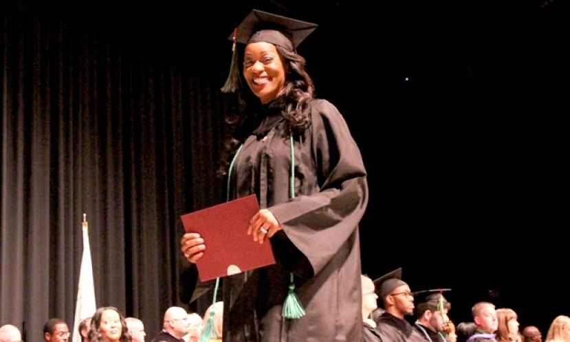 Kathy Williams graduated from Wiregrass with a degree in Paramedicine.