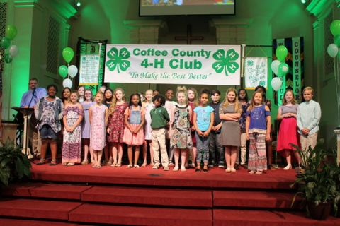 4-H recognizes outstanding 4-H members, volunteers at annual awards ceremony