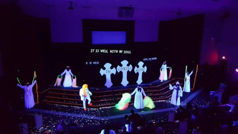 Alma Black Light Extravaganza coming to FBC Douglas