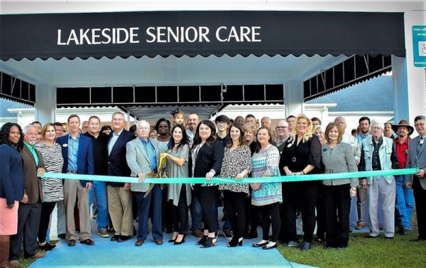 Lakeside Senior Care holds ribbon cutting, open house