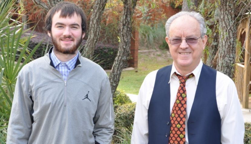 2014-2015 Eames Scholarship at SGSC awarded to Andrew Daniels