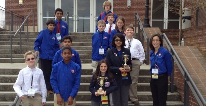 Coffee Middle School TSA members attend conference in Athens