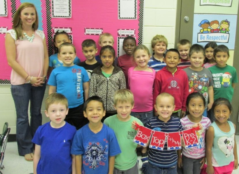 Mrs. Winters' class at West Green Elementary.