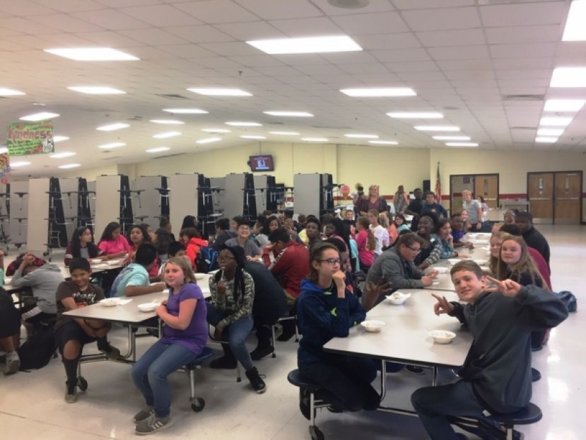 Attendance Awareness leads to ice cream party at CMS