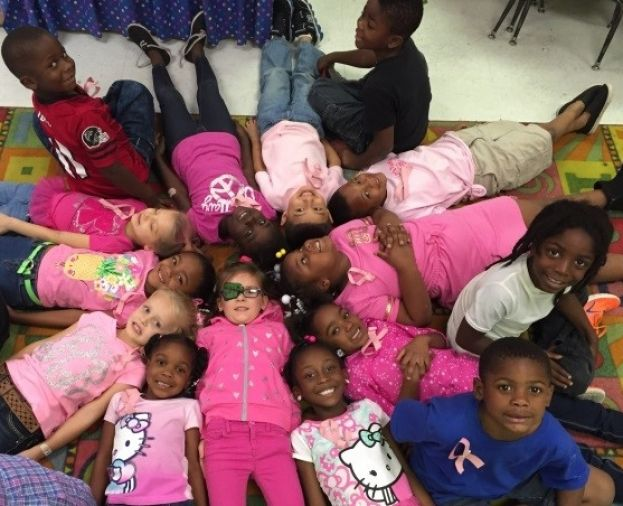 Westside school is 'Passionately Pink!'