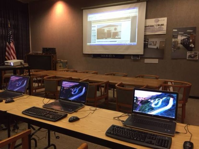 Douglas library debuts new wireless computer classroom