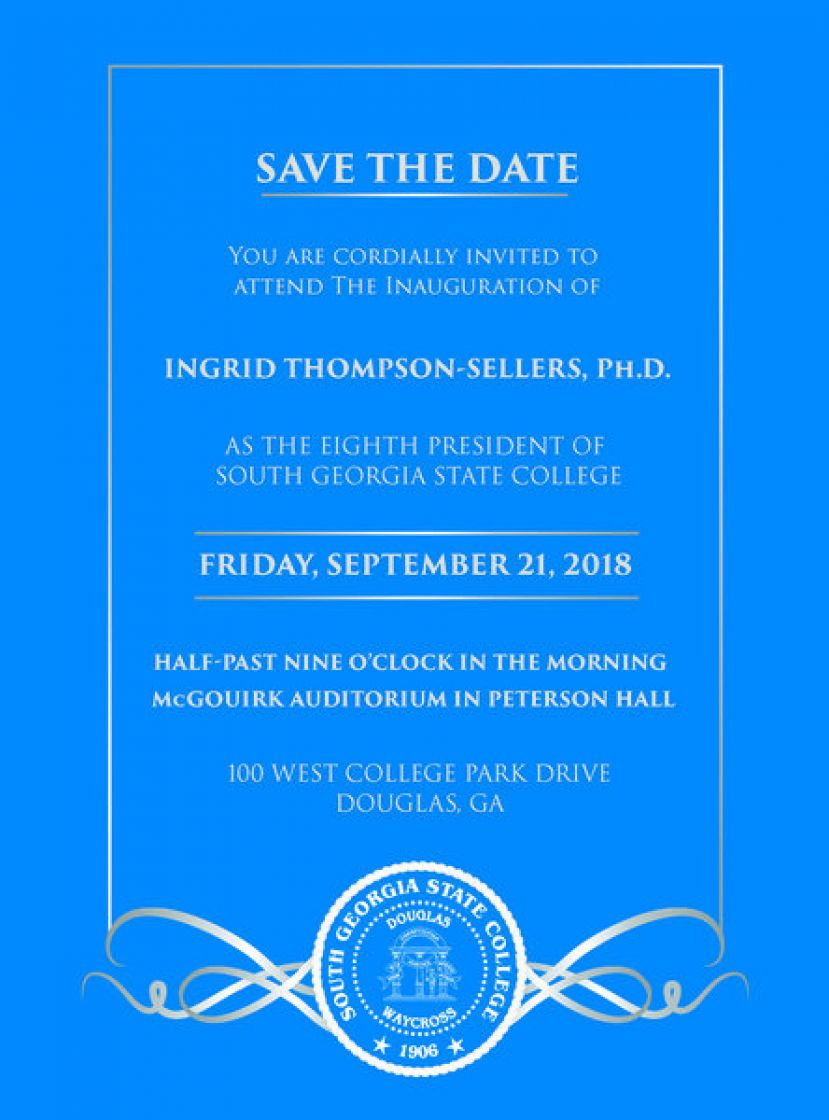 SGSC to celebrate Inauguration of Dr. Ingrid Thompson-Sellers in September