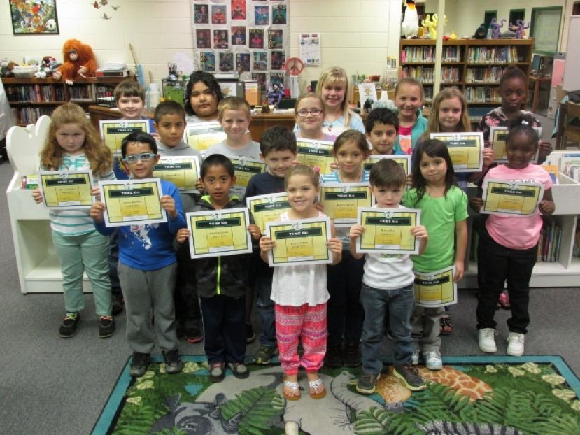 West Green recognizes March TRIBE Kids