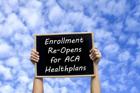 ACA enrollment has re-opened