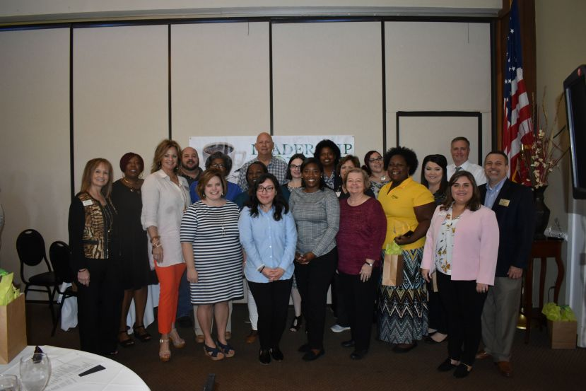 Leadership Coffee class graduates