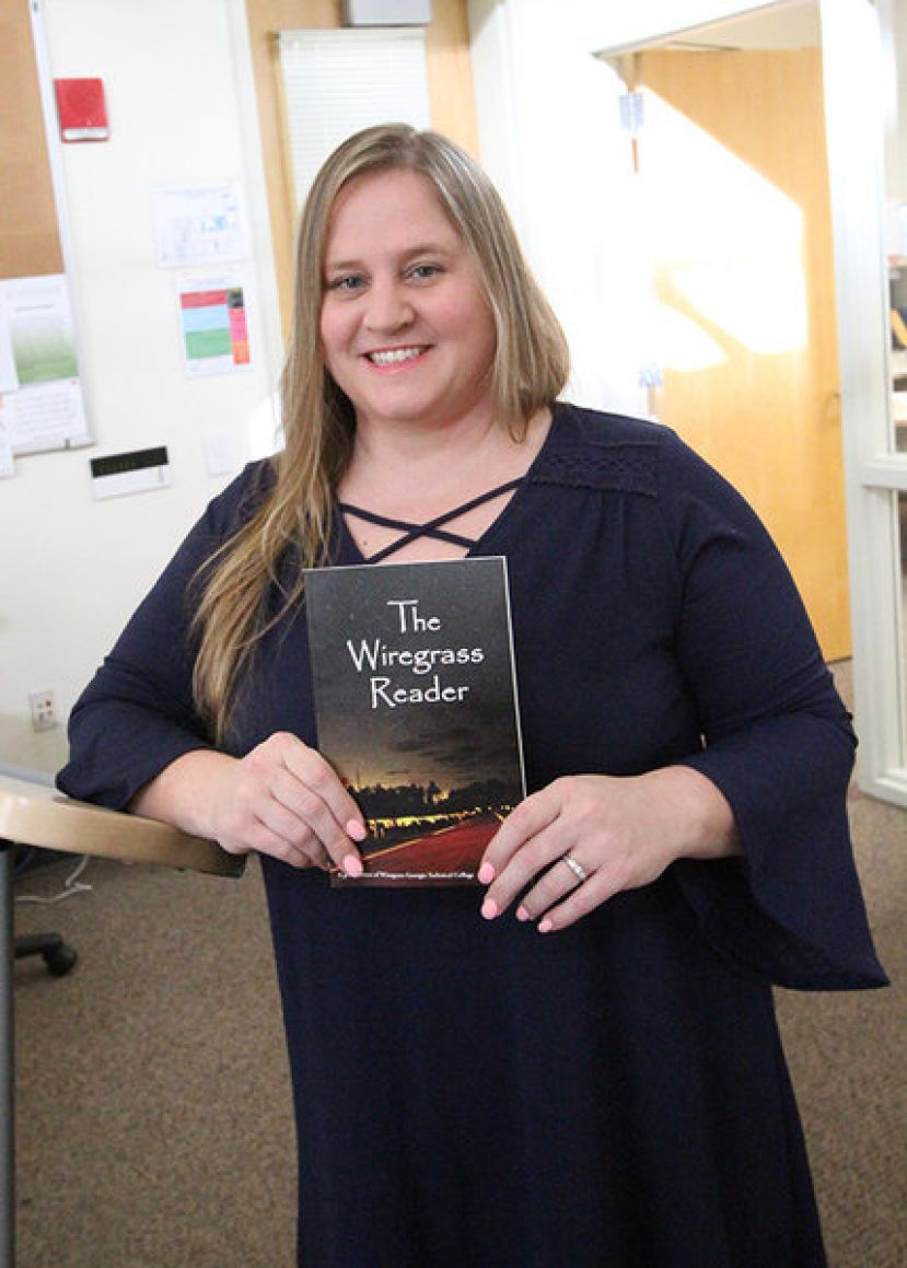 Wiregrass English Instructor Cathy Leeman was the Editor