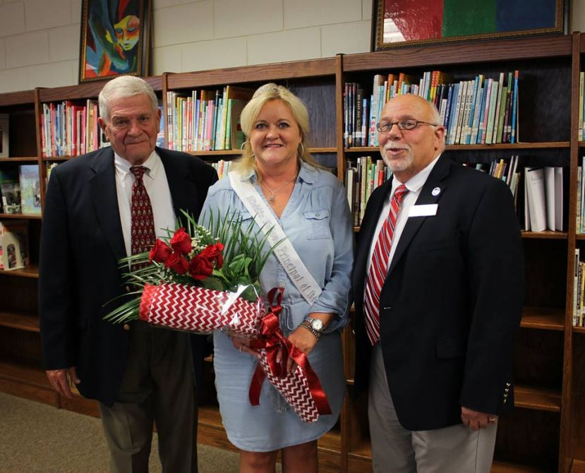 Coffee Middle School principal Sherri Berry has been named Principal of the Year.
