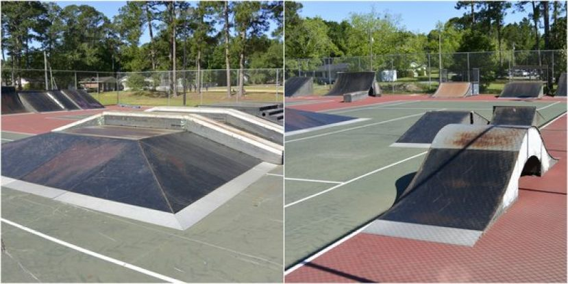 Douglas Parks and Recreation Department purchased skate ramps from Savannah Leisure Services for skateboarding use at Eastside Park