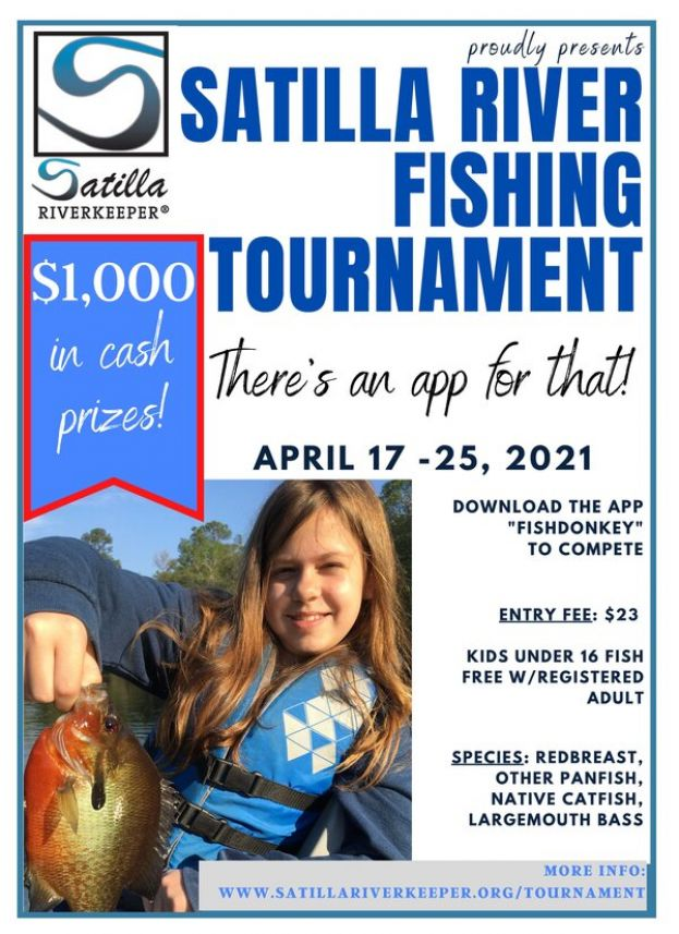 Satilla Riverkeeper announces Satilla River Fishing Tournament