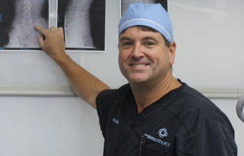 Douglas physician creates revolutionary spinal alignment system
