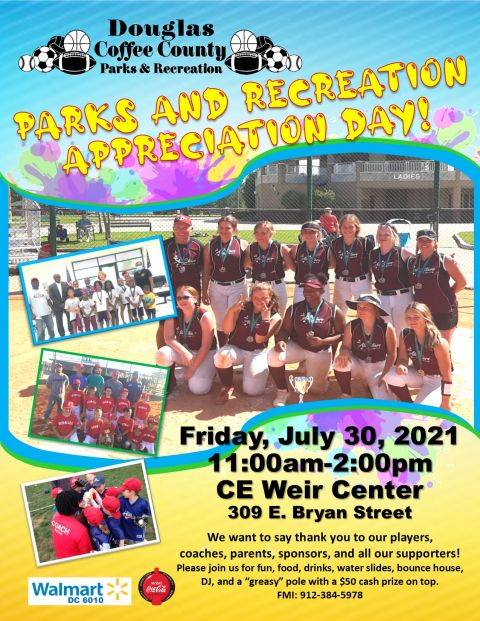 Celebrate parks and recreation day on July 30