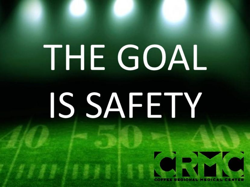 CRMC: Safety is paramount during football games, practice