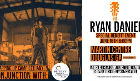 Ryan Daniel to perform free concert at Martin Centre Saturday night