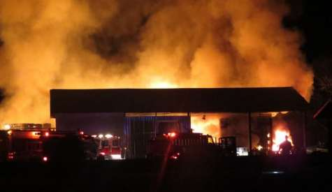 Fire strikes Day Lumber, damage is significant