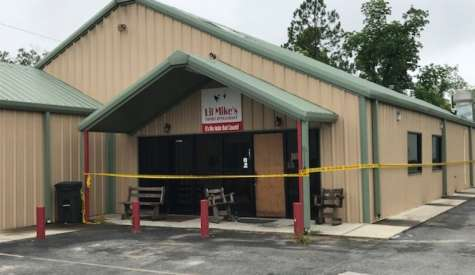 Officials investigate suspected arson at Lil Mike's, reward offered