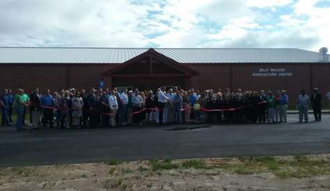 School system unveils Billy Walker Agriculture Center at middle school