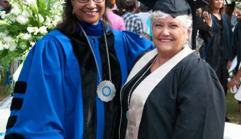 JoAnne Lewis receives first honorary degree from SGSC