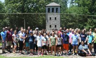 4-H'ers attend camp at Rock Eagle
