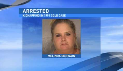 Authorities charge Melinda McSwain with murder in 1991 disappearance of Sabrina Long