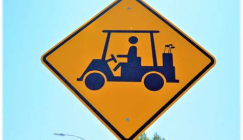 Douglas is a Golf Cart Community but there are guidelines for operating carts on city streets