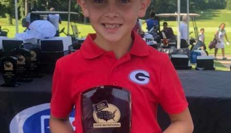 Ace Harris wins state golf championship