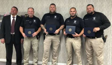 Feds recognize area officers, agencies for Sandy Bottom takedown