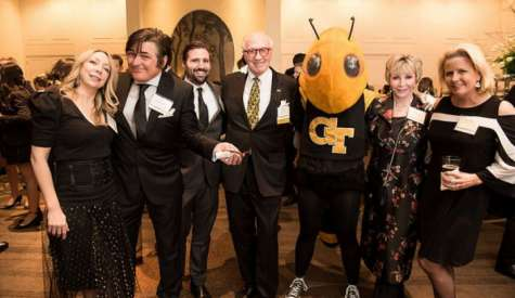 Francis Lott honored at 2018 Gold & White Gala Awards by Georgia Tech Alumni Association