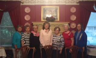 The Commodore Oliver Bowen Chapter, National Society Daughters of American Revolution of Douglas installs new officers