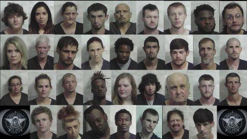Jeff Davis officers arrest 34 on drug, weapons charges