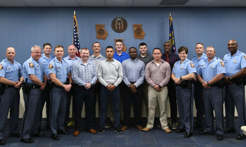 The following officers have returned to the Georgia State Patrol after being cleared in last year's cheating scandal: Trooper Jalin Anderson, Post 33-Milledgeville; Trooper Eric Guerrero, Post 36-Douglas; Trooper Seferino Chavez, Post 47-Forest Park; Trooper Clint Donaldson, Post 49- Motor Unit; Trooper Paul Osuegbu, Post 32-Athens; Trooper David Allan, Post 37-Cumming ; Trooper Christopher Cates, Post 27-Blue Ridge; Trooper Adam Salter, Post 26-Thomaston; Trooper James Vaughan, Post 39- Cuthbert.