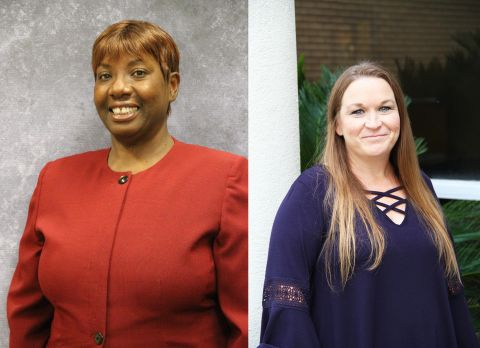 Doggett and Thomas named Wiregrass employees of the year